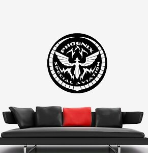 Vinyl Wall Decal Helicopter Aviation Airforce Flight Boys Room Stickers g608