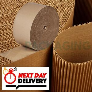 Details about CORRUGATED CARDBOARD ROLLS - 75M FULL ROLLS - STRONG SHEETS -  24 HR DELIVERY
