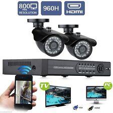 Pack Video Surveillance Sécurité HD 2 caméras Neuf