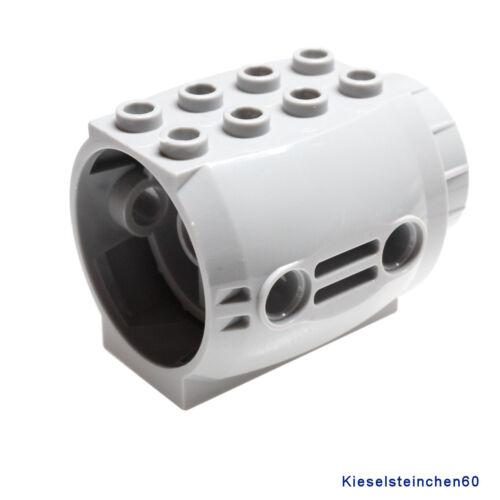 LEGO ® 1x turbina jet engine 4x5x3 GRIGIO CHIARO 4211767 43121