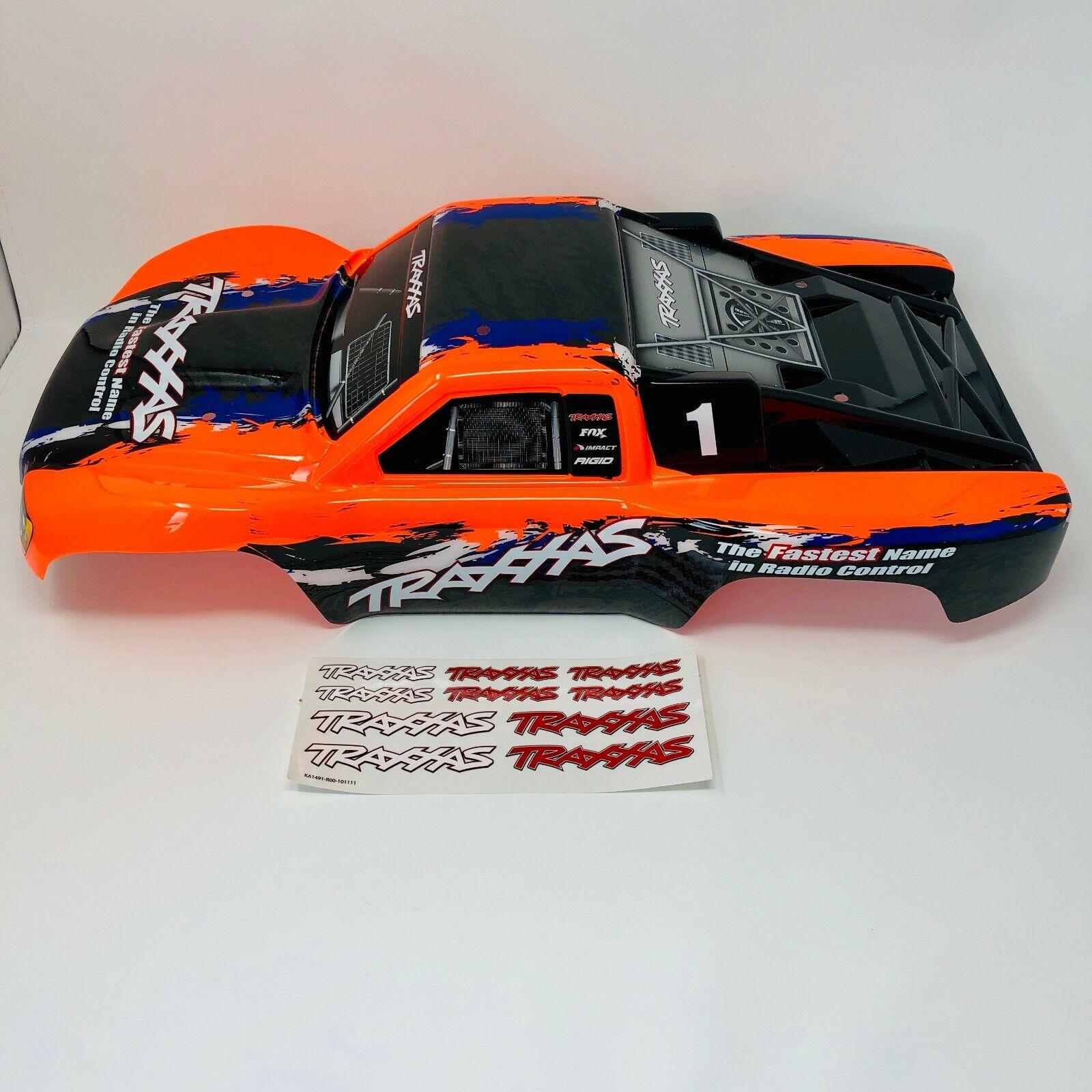 TRAXXAS Slash-arancione nero-Cassa-corpo Shell-Decalcouomoie-XL-5 -  4X4 6889  acquista la qualità autentica al 100%