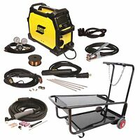 Esab Rebel Emp 215ic Mig/stick/tig Welder With Cart (0558102240)