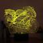 MOTOCYCLE HARLEY DAVIDSON  3D Night Light  LED 7 Colour Touch Desk Lamp XMAS