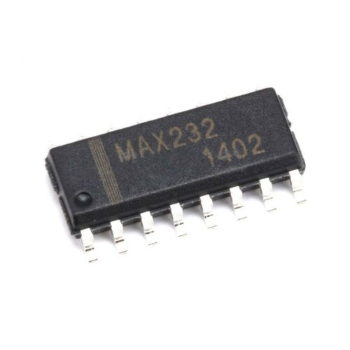 10x MAX232 Dual-Channel RS-232 Interface IC//Dual Transceiver SMD SOP-16 232 NEW