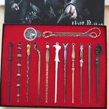 13pcs//set Harry Potter Hermione Dumbledore Sirius Fleur Magic Wand Box Gift NN