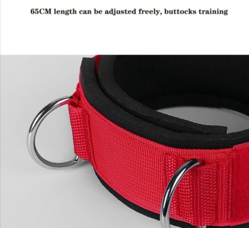 Details about  /Elastic buttock leg expander rubber with carabiners for leg exercises fitness