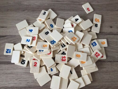 SPEARS GAMES SPARE PARTS // PIECES REPLACEMENT TILES THE ORIGINAL RUMMIKUB
