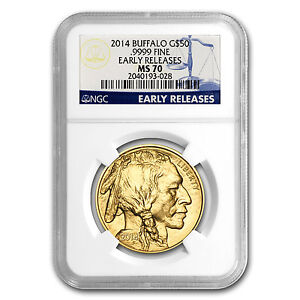 2014-1-oz-Gold-Buffalo-Coin-MS-70-Early-Releases-NGC-PRESALE