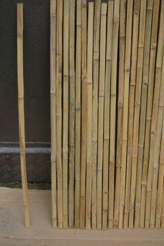 Paket 50 Stck.Bambusleisten 95 cm x 2 cm für Zaun  Sichtschutz Bambus Bambusrohr