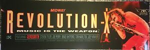 """Collectibles Replacement Parts Revolution X 3 Gun Marquee 27"""" X 8.125"""""""