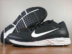 b18352d646 New Nike Lunar Clipper Turf '17 Black Baseball Shoe/Trainer 880262 ...
