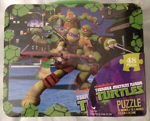 Nickelodeon-TMNT-Puzzle-Lunch-Box-48-Piece-Teenage-Mutant-Ninja-Turtle-Ages-3