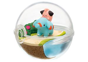 Re-ment-Pokemon-Terrarium-Pokeball-Collection-7-Figure-Cleffa-amp-Phanpy