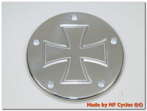 Zuendungsdeckel-Harley-Davidson-Point-Cover-Softail-FXD-Iron-Cross-Eisernes-Kreuz