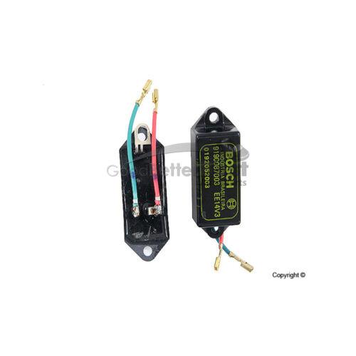 One New Bosch Voltage Regulator 9190087003 0409038033 for Volkswagen VW