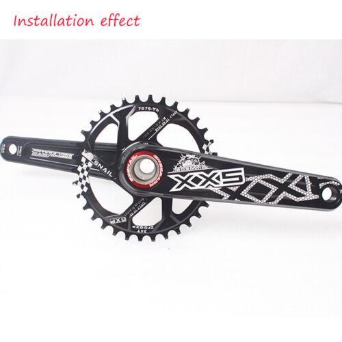 SNAIL GXP 170mm Crank 30//32T//34T Chainwheel MTB Bike Chainring Crankset CNC US