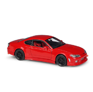 Welly-1-24-Nissan-Silvia-S-15-Diecast-Model-Racing-Car-Red-NEW-IN-BOX