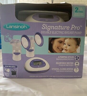 Lansinoh Signature Pro Electric Double Breast Pump 2 Phase