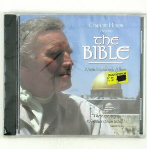 CHARLTON HESTON Presents The Bible CD 1993 SOUNDTRACKS SEALED/UNPLAYED
