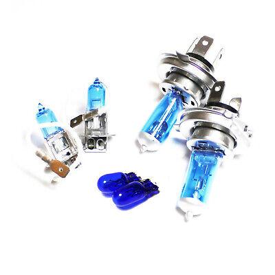 100w Super White Xenon HID High//Low//Fog//Side Light Headlight Bulbs Set