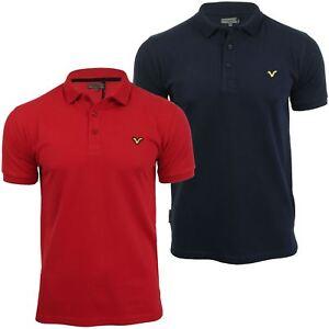 Voi-Jeans-Mens-Fashion-Polo-Shirt-Redford-Short-Sleeved