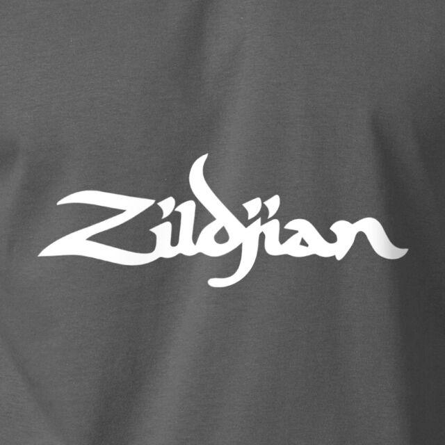 Sabian Grey T-Shirt With Pocket Logo Large