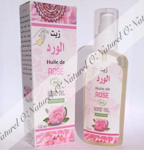 Huile-de-Rose-BIO-SPRAY-100-Pure-amp-Naturelle-120ml-Rose-Oil-Aceite-de-Rosa