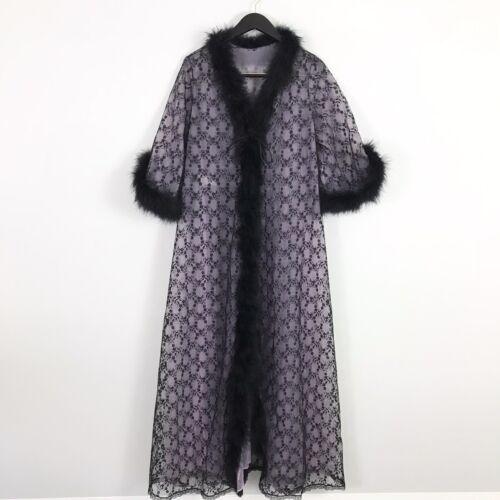 Vintage Jenelle of California Large Peignoir Robe