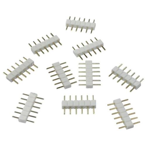 Accessory for RGBW+WW CCT LED strips distributors connectors extension cables