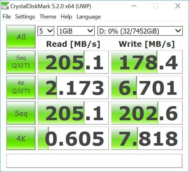 Seagate, 8000 GB, Perfekt