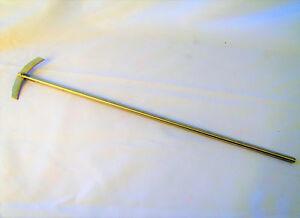 Stainless-steel-overhead-stirrer-mixer-shaft-paddle-diameter-8mm-length-14-034-New