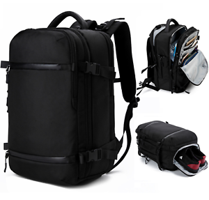 17 inch Laptop Computer Backpack Waterproof Business Travel Hiking ...