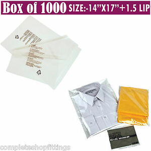 Image Is Loading 1000x Garment Ng Polypropylene Resealable Bags Textile Clothing