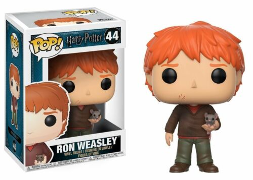 Brand New Ron Weasley with Scabbers Harry Potter #44 Funko Pop!