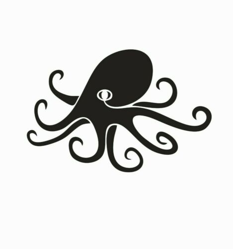 Octopus Sea Creature Animal Vinyl Die Cut Car Decal Sticker-FREE SHIPPING