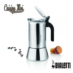 Bialetti-Cafetiere-italienne-034-Venus-034-Inox-Induction-4-6-ou-10-tasses-NEUF