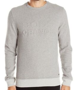 embossed logo sweatshirt - White HUGO BOSS Cheap Really Cheap Cost Cheap Prices Reliable Clearance Looking For Low Price Sale Online 3uudT