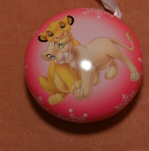 #14 Hallmark Disney Countdown Fillable Christmas Ornament Lion King
