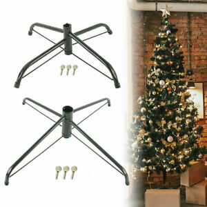 35 40cm Christmas Tree Stand Folding 4 Foot For 4 6ft Tree Artificial Tree Decor Ebay