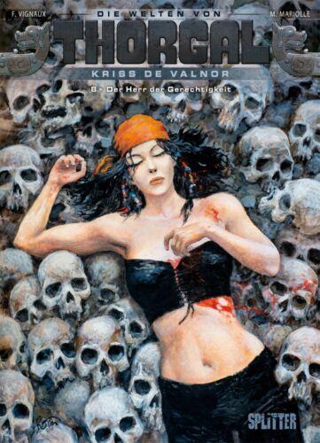 Splitter Kriss de Valnor 8 Comic – NEUWARE Welten von Thorgal