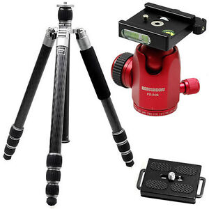 HORUSBENNU-FX-8442TTX-Carbon-D-SLR-RF-Camera-Tripod-Ball-Head-BK-Trans-Monopod
