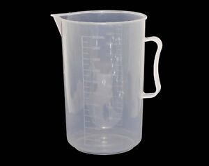 Nahrung-Liquid-Chemical-Messbecher-Beaker-Abgestuft-2000ml-Dunkelkammer-Masband