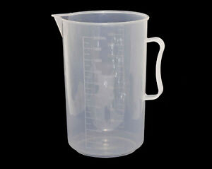 Food-Liquid-Chemical-Measuring-Jug-Beaker-Graduated-2000ml-Darkroom-Measure