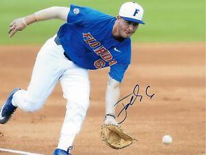 Jonathan India signed autograph Florida Gators Prospect Baseball COA LOOK!