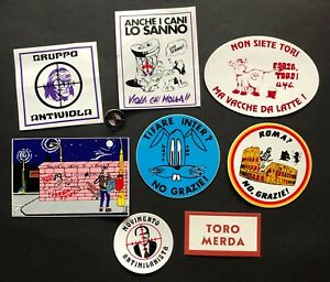 "BLOCCO ADESIVI ORIGINALI DELL'EPOCA MISTI ""ANTI"" ORIGINAL STICKERS"