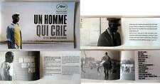 UN HOMME QUI CRIE - Haroun - DOSSIER PRESSE/FRENCH PRESSBOOK