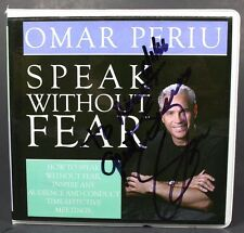 Signed Omar Periu One Minute Meeting 4 CD Audiobook Set 2003 Speak Without Fear