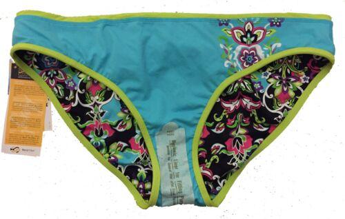 NWT Athleta $49 L Large Wild Flower Wildflower Reversible Bikini Bottom Sold Out