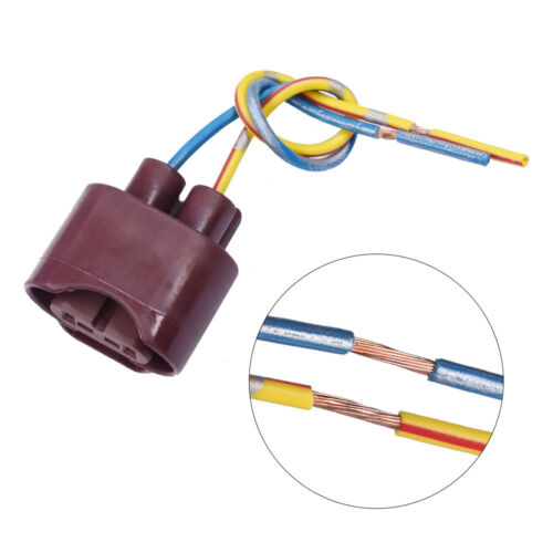 2X 9006 HB4 Female Adapters Wiring Harness Sockets Plug For Headlight Fog Light
