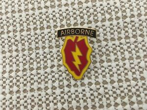 US-ARMY-25TH-INFANTRY-DIVISION-AIRBORNE-HAT-PIN